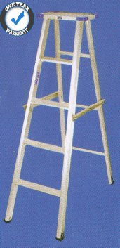 aluminium ladder self support top platform single-side