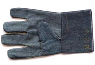 jean material safety gloves