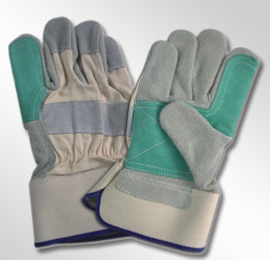 leather safety gloves split canadian type