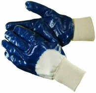 Nitrile Dipped Gloves Thick Layer