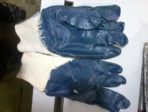 nitrile dipped cut resistance gloves thin layer