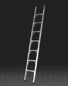 wall support ladder